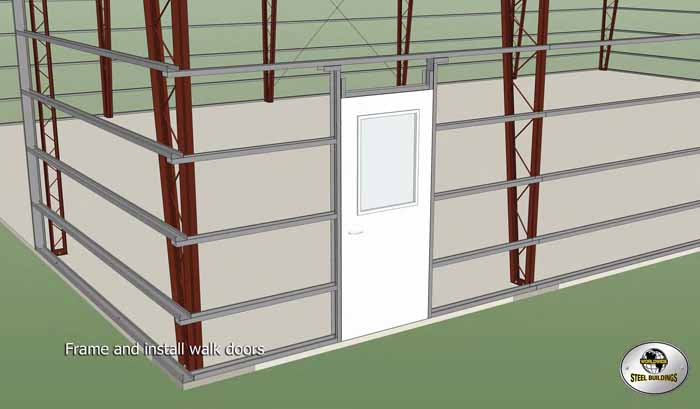 Frame and Install Doors